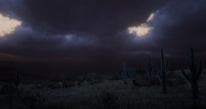 RDR2: A Storm-Chaser's Dream Videogame